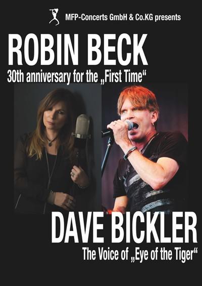 ROBIN BECK & DAVE BICKLER - Double Headliner Show - abgesagt