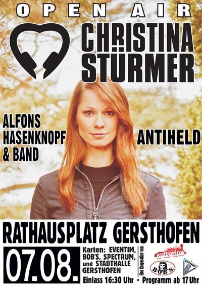 CHRISTINA STÜRMER - Open Air - Rathausplatz Gersthofen