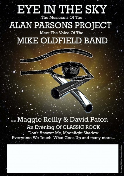 MAGGIE REILLY & DAVID PATON - The Musicians of ALAN PARSONS PROJECT meet The Voice of MIKE OLDFIELD