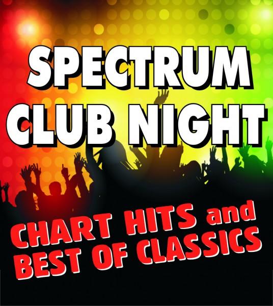 SPECTRUM CLUB NIGHT - mit DJ HEINER - ABGESAGT!!!
