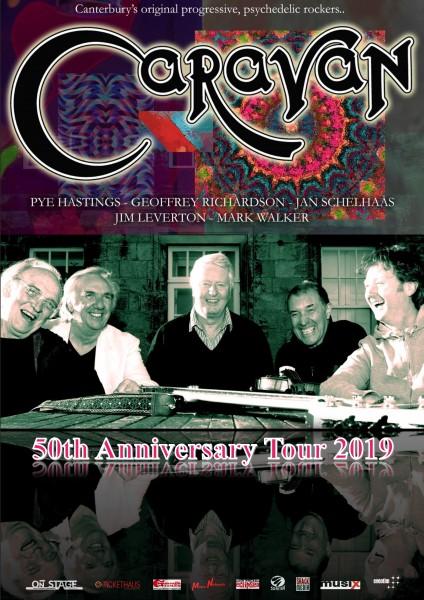 CARAVAN - 50th Anniversary Tour abgesagt