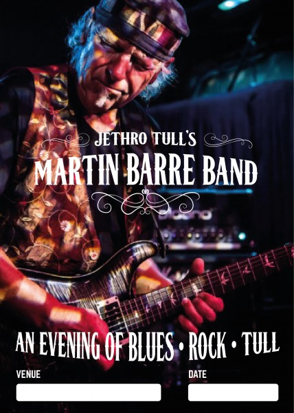Jethro Tull´s MARTIN BARRE - An Evening of Blues - Rock - Tull