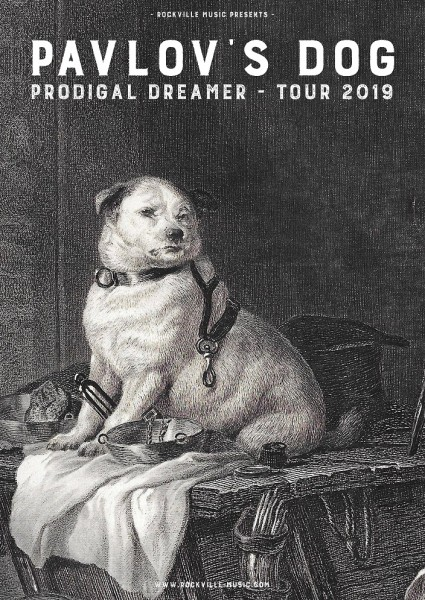 PAVLOV´S DOG - Prodigal Dreamer Tour 2019
