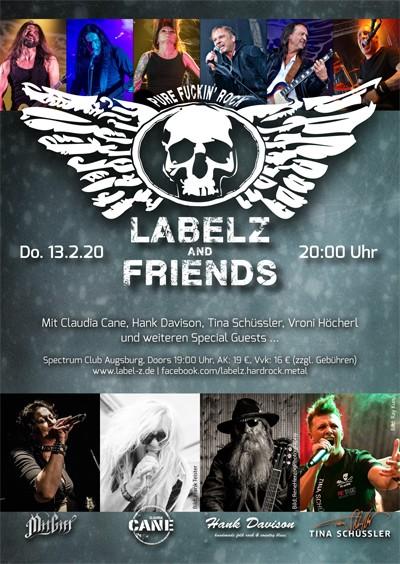 LABEL-Z & friends mit Claudia Cane, Hank Davison, Tina Schüssler, Vroni Höcherl und weiteren special