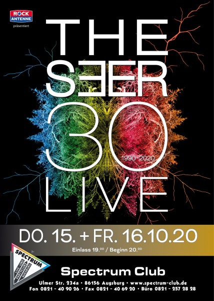 THE SEER 30 LIVE - Heimspielticket 16.10.2020