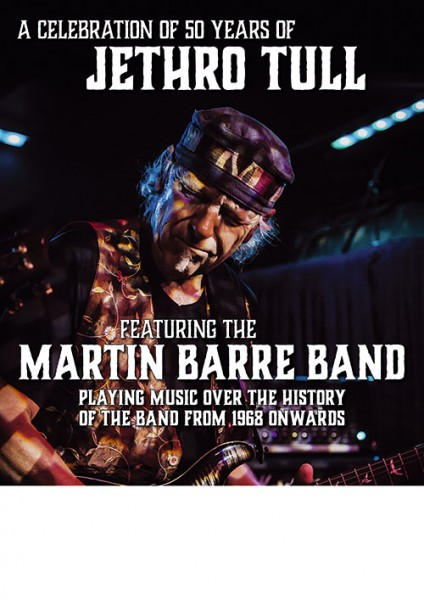 Jethro Tull´s MARTIN BARRE performs Best of 50 years of Jethro Tull