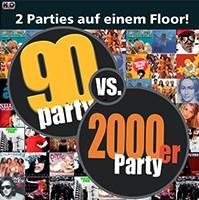 90er Party vs. 2000er Party