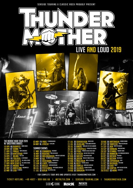 THUNDERMOTHER - Live and Loud 2019 + Support: Lord Bishop Rocks