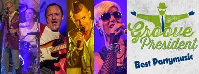 """WEIBERFASCHING 2018 mit der Liveband """"Groove President"""""""