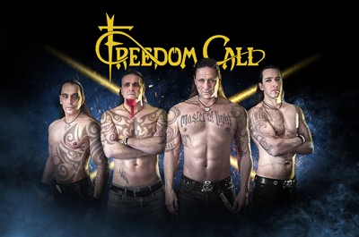 FREEDOM CALL - Master of Light Tour 2017 + Support: The Legendary