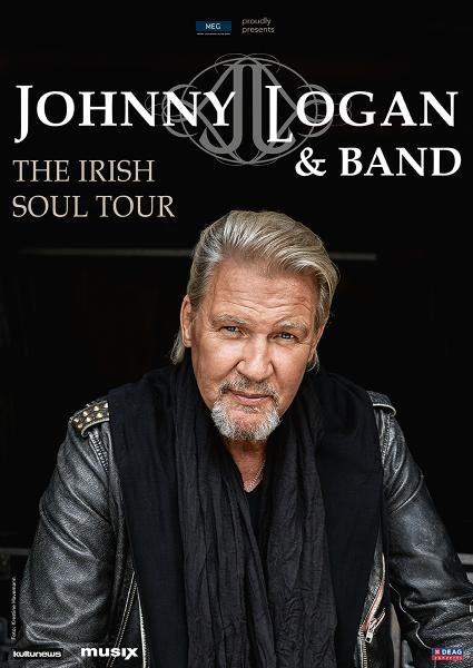 JOHNNY LOGAN & Band - The Irish Soul Tour 2022
