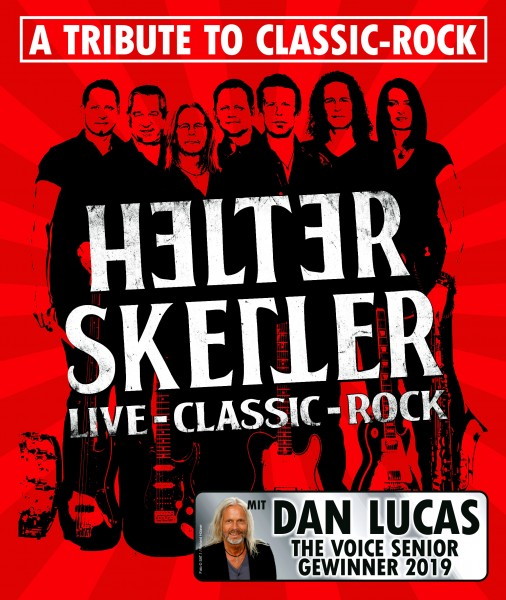 HELTER SKELTER - Live-Classic - mit Aftershow Classic Rock Party mit DJ MIKE