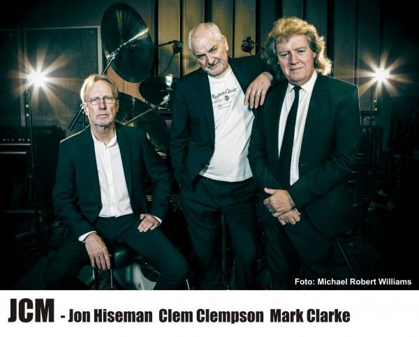 """JCM feat. JON HISEMAN, CLEM CLEMPSON & MARK CLARKE - """"Heroes"""" Tour - 3 x COLOSSEUM-Live!"""