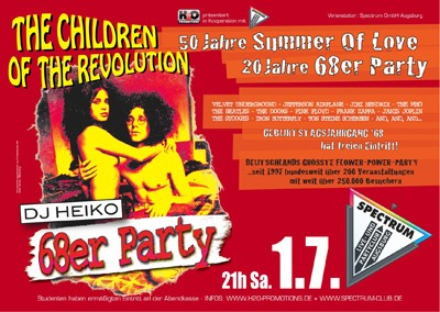 THE CHILDREN OF THE REVOLUTION - 68er Party