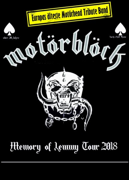 MOTÖRBLÖCK Memory of Lemmy Tour 2019