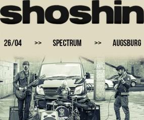 SHOSHIN - Tour 2015 -auf Herbst 2015 verschoben
