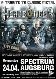 HEADBÄNGER - A tribute to Classic Metal mit LIVEBAND HEADBÄNGER